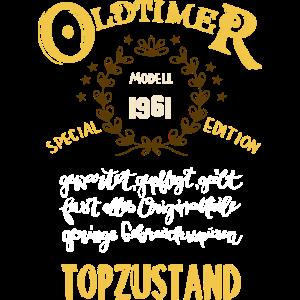 60. Geburtstag Oldtimer aber Topzustand 1961