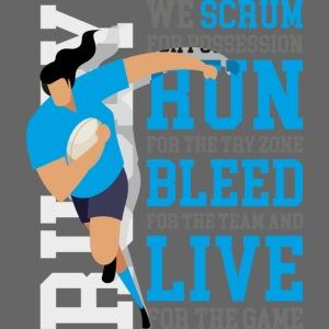 MarPlo Scrum Run Live cyan W