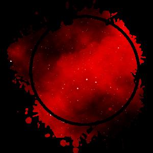 Roter Kreis Rot - Abstrakte Kunst