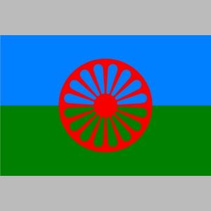 Flag of the Romani people