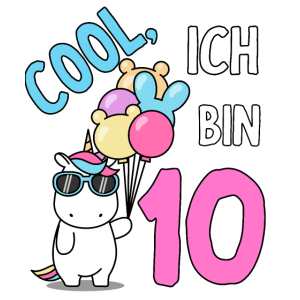 10. Geburtstag 10 Jahre Kindergeburtstag