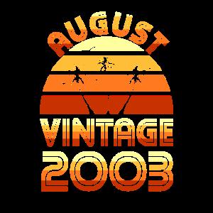 Geburtstagsgeschenk 2003 August 18 Jahre Vintage