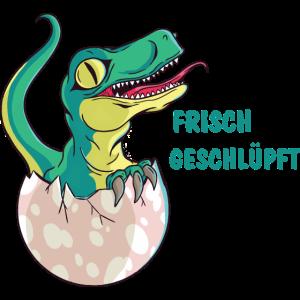 Dino frisch geschlüpft