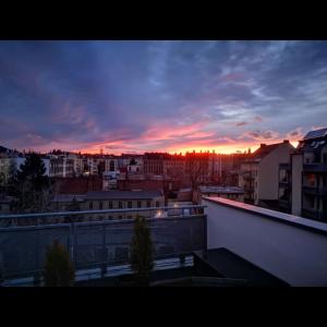Abend-Aussicht-Design