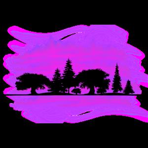 Purple forest by the Manzanita`s