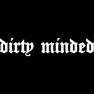 Dirty Minded Sad Girl Grunge aesthetic E-Girl goth