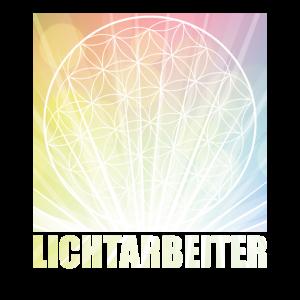 Lichtarbeiter Lichtmensch Blume Des Lebens