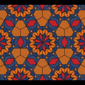 Oriental Geometric Pattern