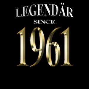 Legendär seit 1961 Geburtstag Damen Herren 60 Jahr