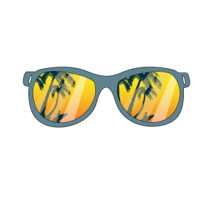 Sonnenbrille Surfen