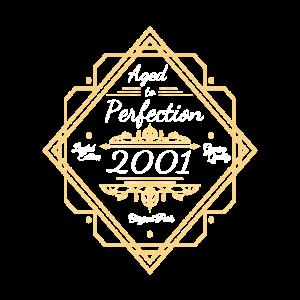 2001 Geburtstag Gereift zur Perfektion