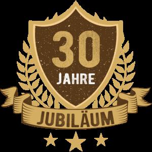 30 Jahre Jubiläum Firmenjubiläum Mitarbeiter