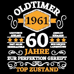 60. Geburtstag 60 Jahre Jahrgang 1961