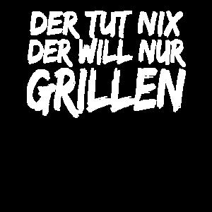 Grillen Grillmeister Spruch Vatertagsgeschenk