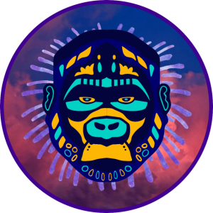 Krafttier Gorilla