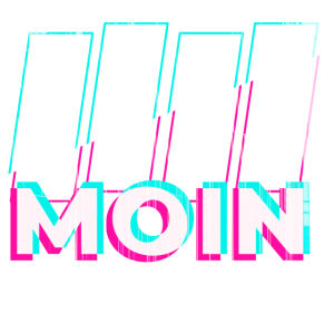 Moin Glitch look