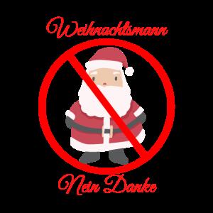 Weihnachtsmann nein Danke