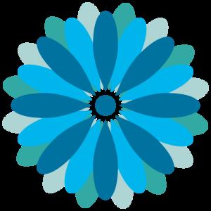 Schoen&Guth Gefüllte Blüte BLAU
