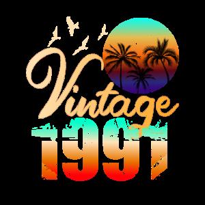 Retro Vintage 1991