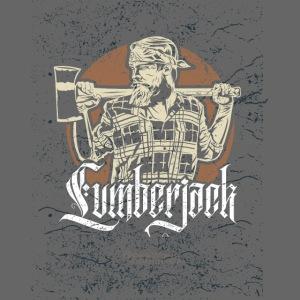 Holzfäller Design Lumberjack