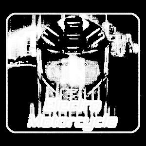 Electro Motorcycle (Halftone)