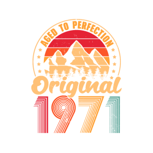 1971 Baujahr 50. Geburtstag Geschenkidee