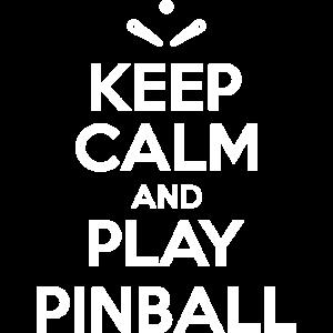 Halten Sie ruhig und spielen Flipper - Flipper-Arcade