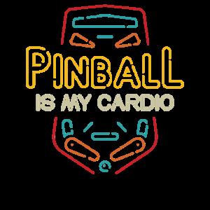 Pinball ist mein Cardio - Flipper Arcade-Maschine