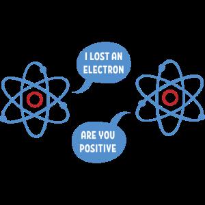 Electron Geschenk Chemie Chemiker Wissenschaft