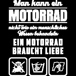 Ein Motorrad braucht Liebe Biker