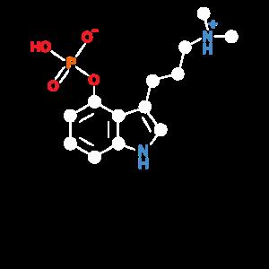 Psyilocybin Strukturformel