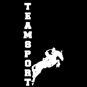 Teamsport Springreiter White