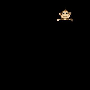 Affe in der Tasche