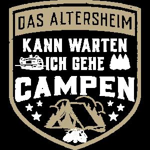 Natur Lustig Camping Mann Camper Frau Wohnmobil