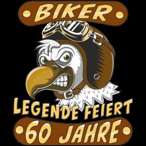 VOGEL HELM BIKER LEGENDE FEIERT 60 JAHRE