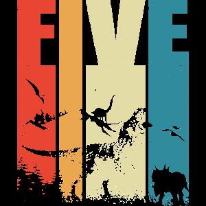 5. Geburtstag Dinosaurier 5 Jahre Geschenk Jungen