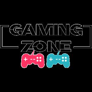Cooles Gaming Zone Design mit Kontroller