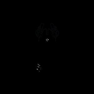 Abstrahierter Löwenkopf