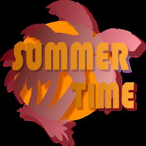 Sommer Urlaub Sonne Strand Palmen Meer