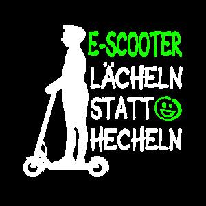 E-Scooter Lächeln