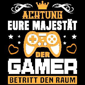 Computerspieler Daddeln Zocken Lustig Gamer Nerd