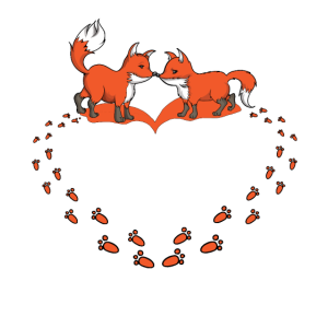Fuchsliebhaber Fuchsspuren Füchse Tierliebhaber