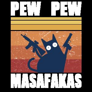 Pew Pew Madafakas Verrückte Katze Katzen