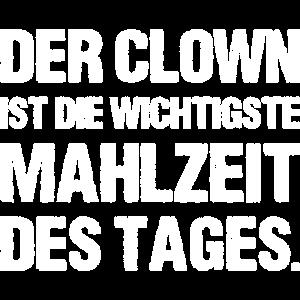 Der Clown ist die Wichtigste Mahlzeit