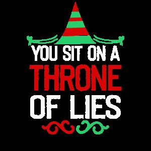 Sie sitzen auf einem Thron der Lügen