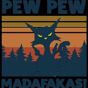 Pew Pew Madafakas Katze