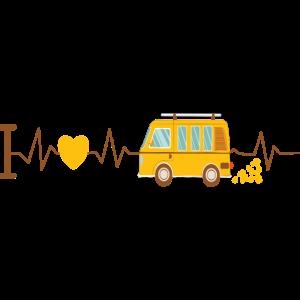Herzschlag Camper Van