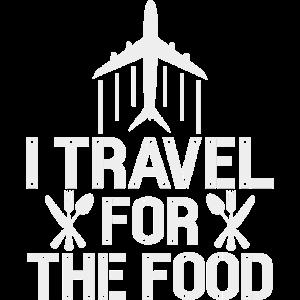 Ich reise für das Essen - Lustige Feinschmecker