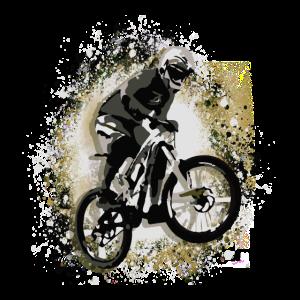 Motocross, Sprung, Motorrad, Graffiti,illustration