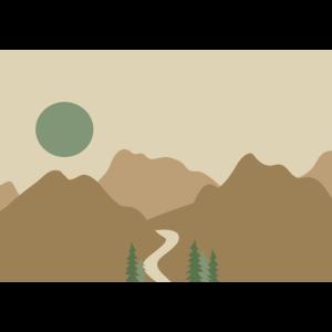 Illustration Sonnenaufgang